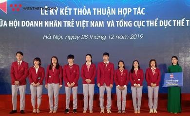 Hội doanh nhân trẻ Việt Nam tạo việc làm và hỗ trợ khởi nghiệp cho VĐV xuất sắc
