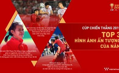 Top 3 đề cử Hình ảnh thể thao ấn tượng của năm Cúp Chiến thắng 2019