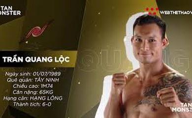 [CHÂN DUNG VĐV] Trần Quang Lộc - Niềm tự hào MMA thuần Việt