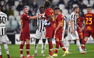 Mourinho chết lặng khi Roma sút hỏng phạt đền dù đã ghi bàn