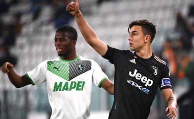 Kết quả Juventus vs Sassuolo, vòng 10 Serie A