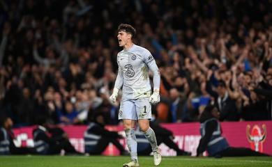Người hùng Kepa cản phá nhiều penalty nhất lịch sử Chelsea