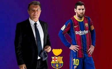 Tân chủ tịch Barca đưa ra những hứa hẹn về Messi sau khi trúng cử