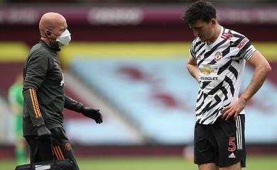 MU lo ngại về Maguire trước chung kết Europa League