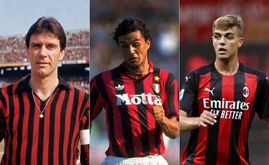3 thế hệ nhà Maldini tạo nên sự kiện đặc biệt trong lịch sử Serie A