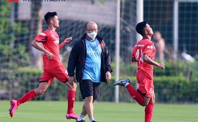 HLV Park Hang Seo bắt đầu chỉnh sửa tiểu tiết cho các học trò