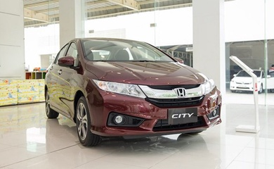 Tháng 10, giá xe ôtô Honda giảm cả trăm triệu đồng