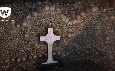 Thư EURO: Một ngày trong hầm mộ giữa Paris