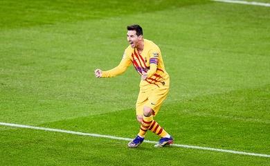 Chiêm ngưỡng Messi ghi bàn thắng đẳng cấp cho Barca ở Cúp Nhà vua
