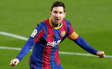 Messi đi vào lịch sử với thành tích ghi bàn độc nhất vô nhị