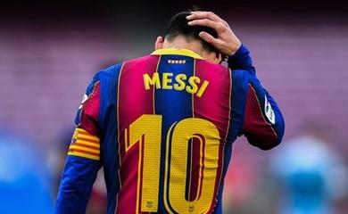 Messi mất 2,7 tỷ đồng mỗi ngày khi hết hợp đồng với Barca