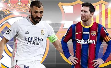 Messi vs Benzema: Chủ nhân chuỗi trận thăng hoa của Barca và Real