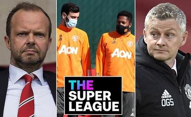 Sếp MU trở thành nạn nhân đầu tiên của Super League