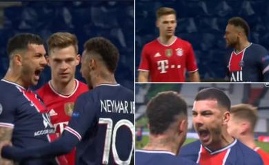 Neymar ăn mừng ở Champions League như trêu ngươi ngôi sao Bayern