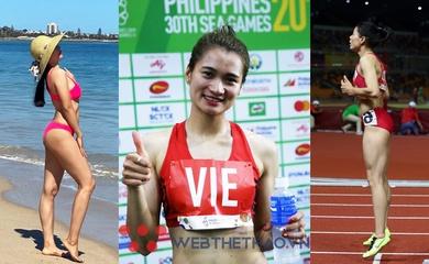 Top 3 người đẹp điền kinh gợi cảm nhất Việt Nam