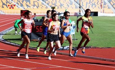 Cô gái Indonesia lập thông số chạy marathon vượt HCV SEA Games