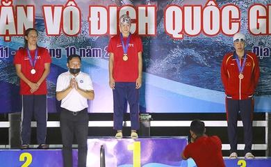 """Hy vọng cho SEA Games 31: Kình ngư nhí Phạm Thị Vân """"dám"""" thắng cả Ánh Viên!"""