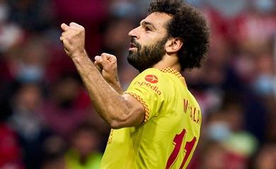 Mohamed Salah lại lập kỷ lục vô tiền khoáng hậu cho Liverpool