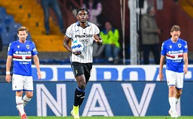 Kết quả Sampdoria vs Atalanta, vòng 10 Serie A
