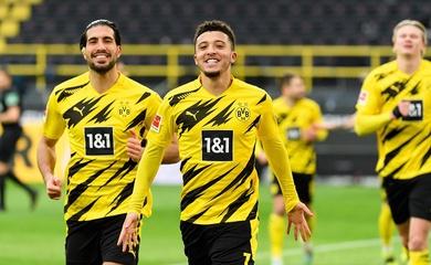 Haaland, Sancho và Reus phối hợp phản công ghi bàn ngoạn mục