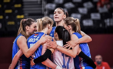 Kết quả bốc thăm tứ kết bóng chuyền nữ Olympic Tokyo 2021