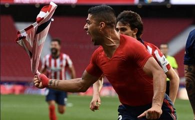 Atletico thoát hiểm ngoạn mục để ngăn Real Madrid vượt qua