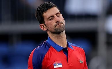 Tennis Olympic: Djokovic tiết lộ nhịn đau thi đấu