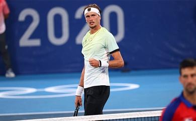Kết quả tennis Olympic mới nhất: Djokovic hụt luôn HCV đôi nam nữ