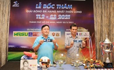 8 đội bóng mạnh tranh tài giải hạng nhất Thiên Long TL2- S3 năm 2021