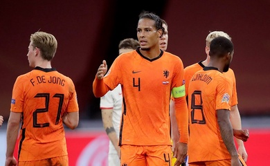 Van Dijk tự loại mình khỏi tuyển Hà Lan dự Euro 2021