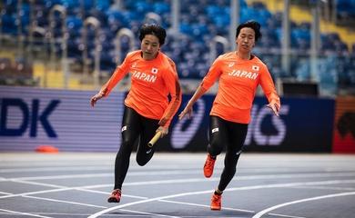 Anh hào quần tụ giải điền kinh tiếp sức mà tuyển Việt Nam lỡ cơ hội lấy chuẩn Olympic