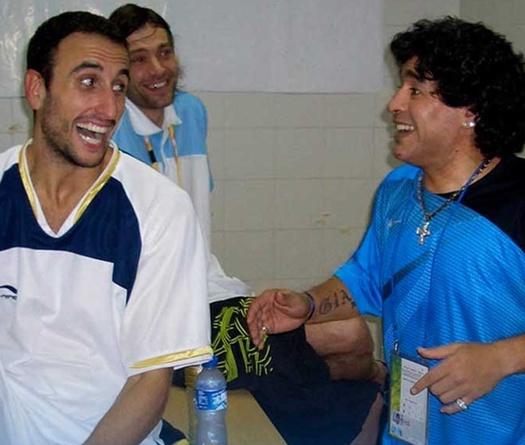 Maradona và tình yêu đặc biệt dành cho một đội bóng tại NBA