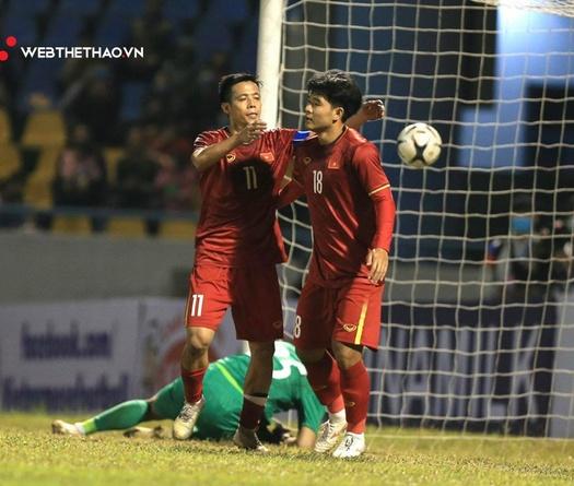 ĐT Việt Nam nhọc nhằn đánh bại U22 Việt Nam