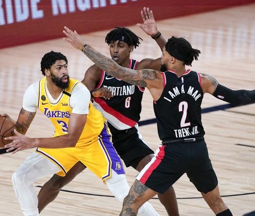 Nhận định NBA: Los Angeles Lakers vs Portland Trail Blazers (Ngày 8/5 9h00)