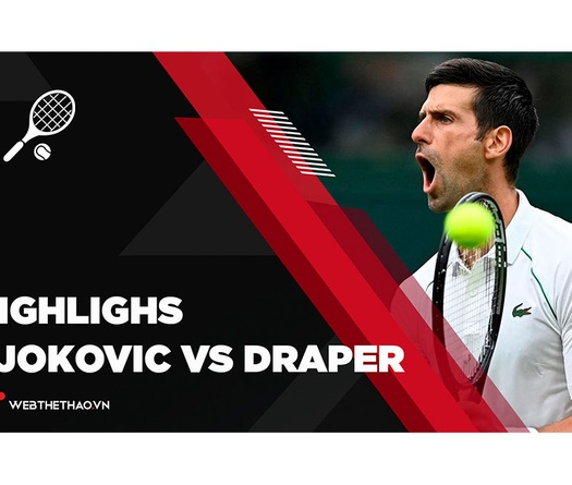 Highlights Novak Djokovic vs Jack Draper    Vòng 1    Wimbledon 2021    Tennis
