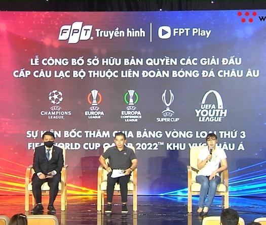 FPT công bố độc quyền phát sóng UEFA Champion League trong 3 mùa giải tiếp theo