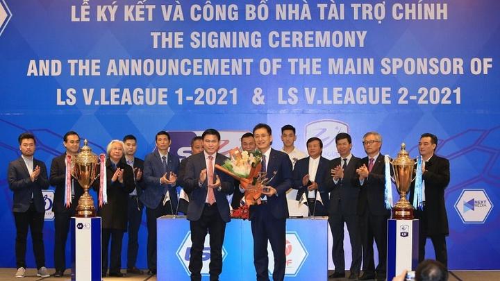 V.League 2021 tìm được nhà tài trợ