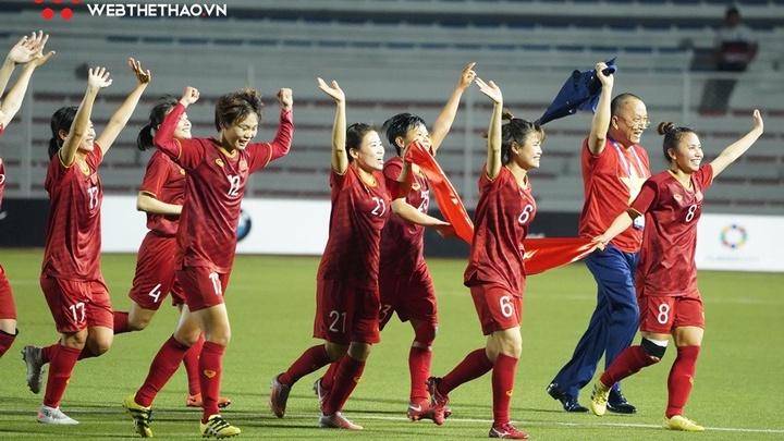 Bóng đá nữ Việt Nam sáng cửa dự World Cup