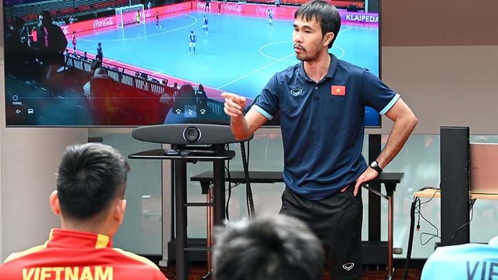 Tuyển Việt Nam điều chỉnh nhân sự quyết đấu futsal Czech