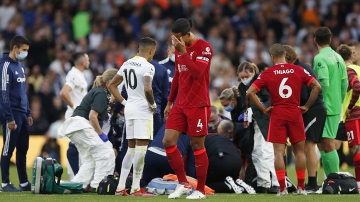 Liverpool chiếm vị trí số 1 về chấn thương và số ngày vắng mặt