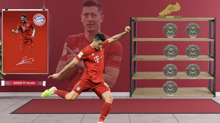 Lewandowski bỏ xa Ronaldo và Messi trong cuộc đua Chiếc giày vàng