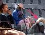 Chuyện khó tin ở giải tennis Rome Open: Trọng tài cầu cứu do bị trừng mắt!