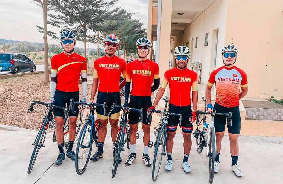 Đội tuyển xe đạp đường trường Việt Nam chuẩn bị kế hoạch