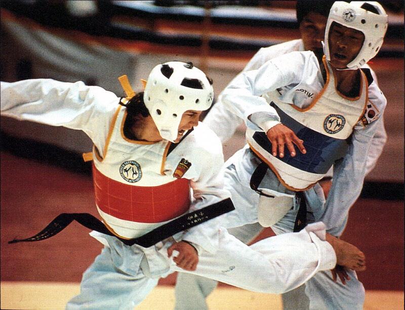 Taekwondo chính thức trở thành môn thi Olympic vào năm 1988