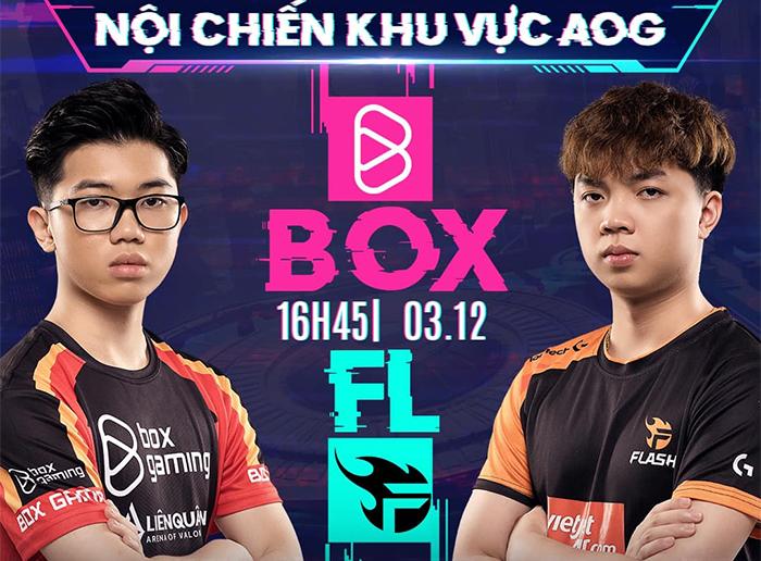 Trực tiếp AIC Liên quân 2020 hôm nay 3/12: FL vs BOX