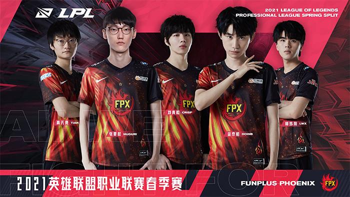 Đội hình FunPlus Phoenix LPL Mùa Xuân 2021