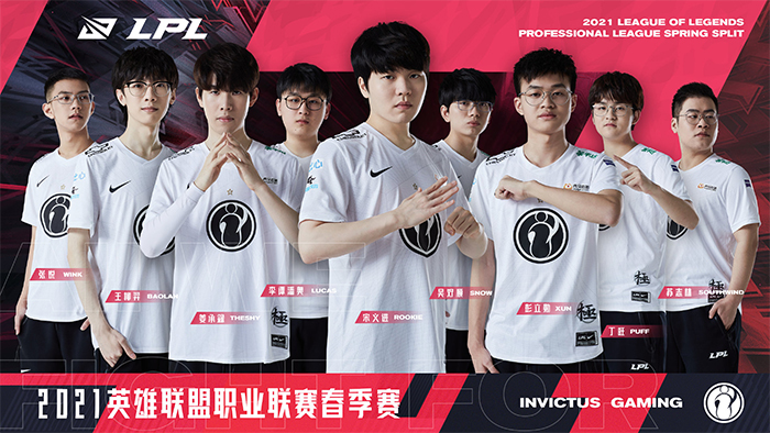 Đội hình Invictus Gaming LPL Mùa Xuân 2021