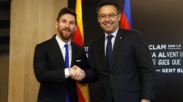 300 triệu euro tiền gửi ngân hàng giúp Messi có hợp đồng khủng