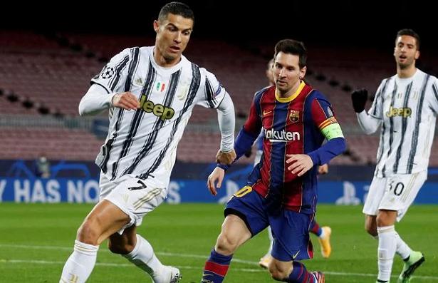 Ronaldo và Messi leo lên vị trí thứ 4 cuộc đua Chiếc giày vàng