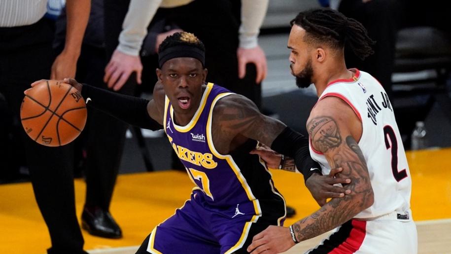 LA Lakers chặn đứng mạch thua khi Dennis Schroder trở lại